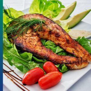 Fatty fish is healthy