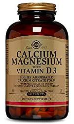 Solgar Calcium Magnesium VitamineD3
