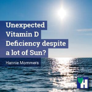 Unexpected Vitamin D Deficiency despite a lot of Sun?