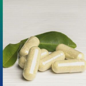 Capsules - different forms of supplements