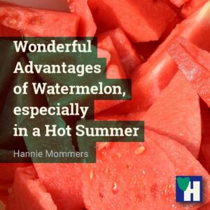 Wonderful Advantages of Watermelon, especially in a Hot Summer