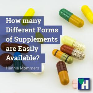 How many Different Forms of Supplements are Easily Available?