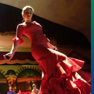 Flamenco dancer on Maja soap