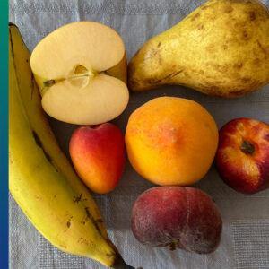 Healthy breakfast: fruits