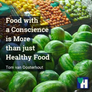 Food with a Conscience is More than just Healthy Food