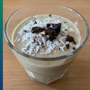 Organic desserts: Bango Pudding