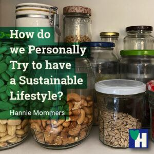 How do we Personally Try to have a Sustainable Lifestyle?