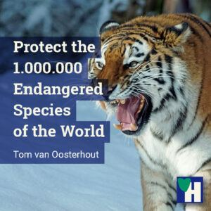Protect the 1.000.000 Endangered Species of the World