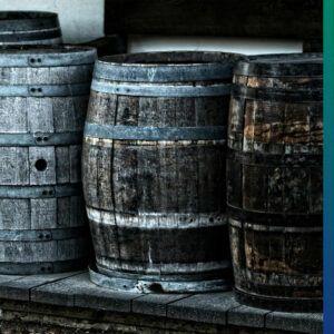 Wine barrels can be good rain barrels