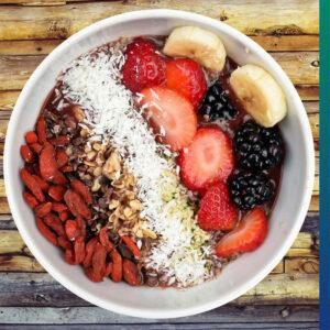 A high-fiber diet has several health benefits