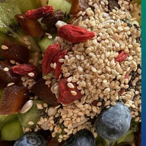 Goji berries, nuts, seeds