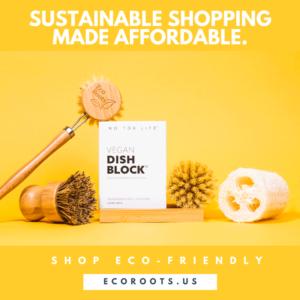 EcoRoots Sustainable Shopping