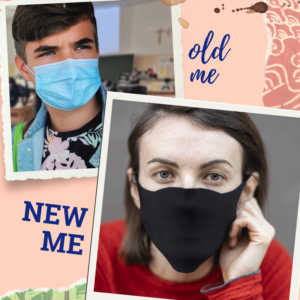 Using a textile mask instead of a plastic one