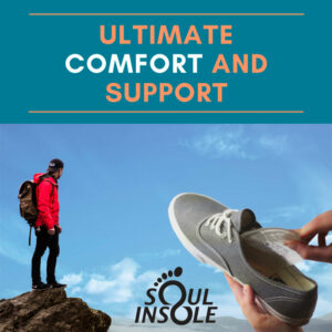 Soul Insole, prevent and remedy foot problems