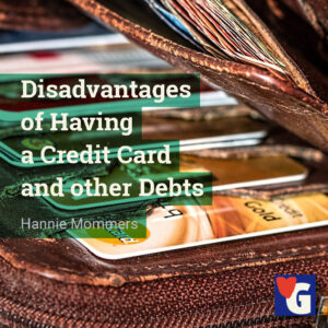 Disadvantages of Having a Credit Card and other Debts